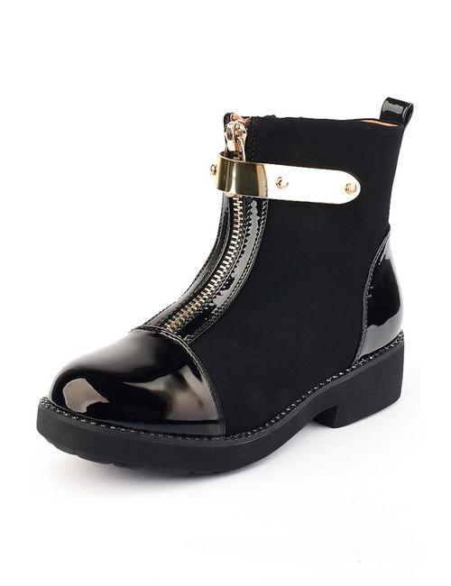 Norka | Женские Чёрные Ботинки