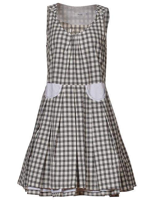 Myrine | Женское Коричневое Платье