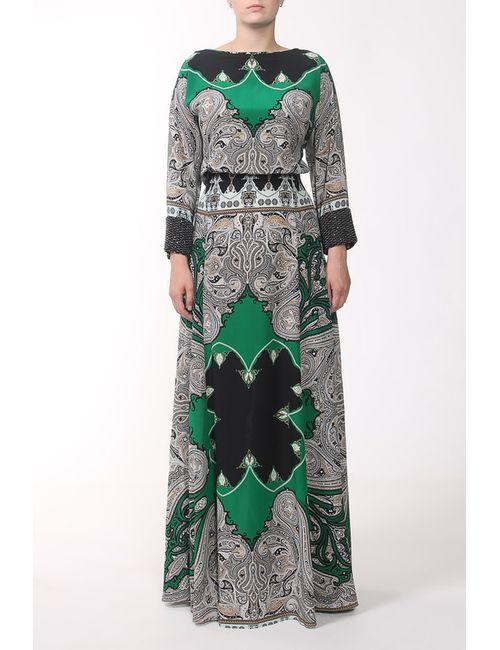Etro | Женское Зелёное Платье