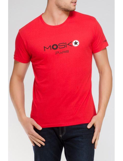 MOSKO | Мужская Красная Футболка