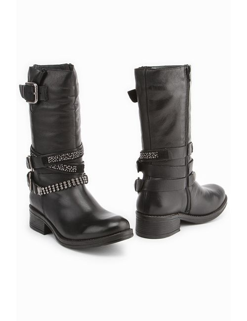El Tempo | Женские Чёрные Ботинки