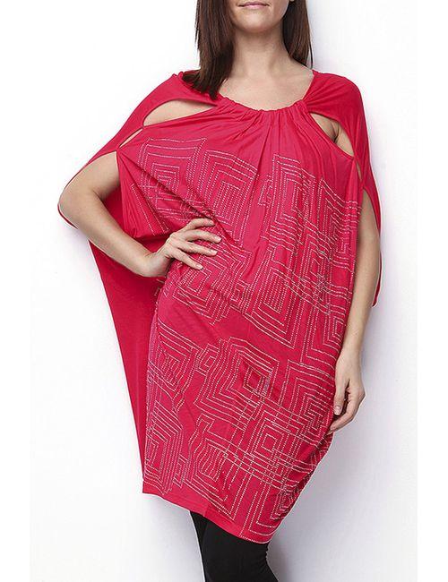 Moda di Lorenza | Женская Розовая Туника