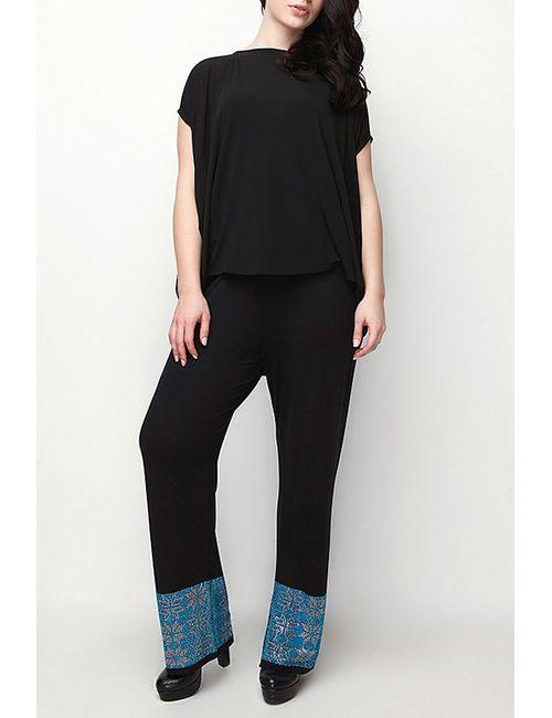 Moda di Lorenza | Женские Чёрные Брюки