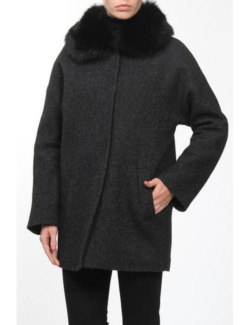 Амулет | Женское Черный Пальто