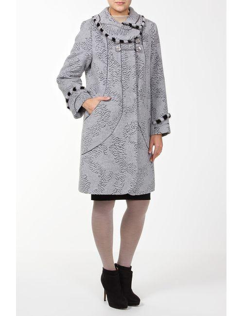 Амулет | Женское Серое Пальто