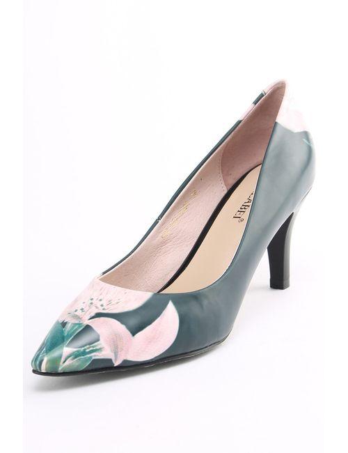 Carlabei | Женские Зелёные Туфли