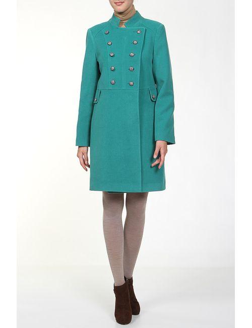 Анора | Женское Зелёное Пальто