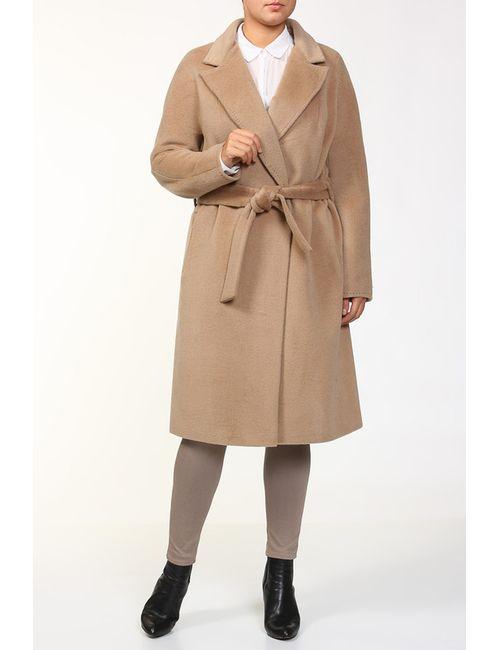 Анора | Женское Бежевое Пальто