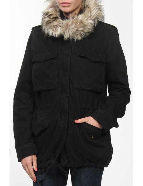 Denim & Supply Ralph Lauren | Женская Серая Куртка С Воротником