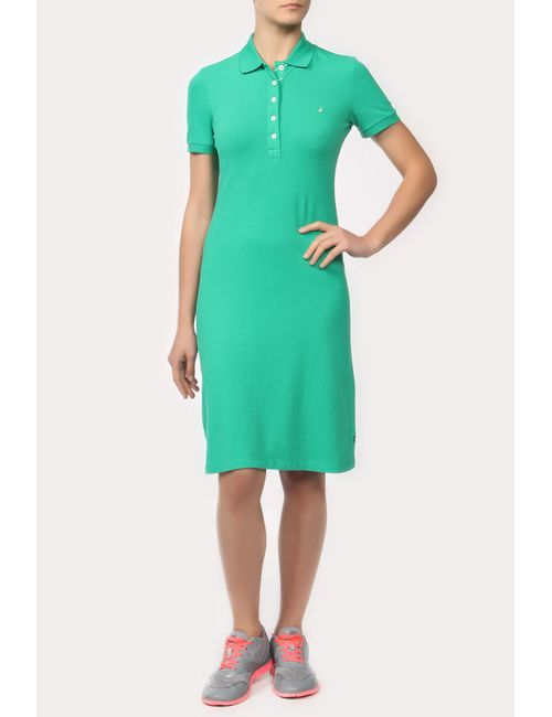 Nautica | Женское Зелёное Платье