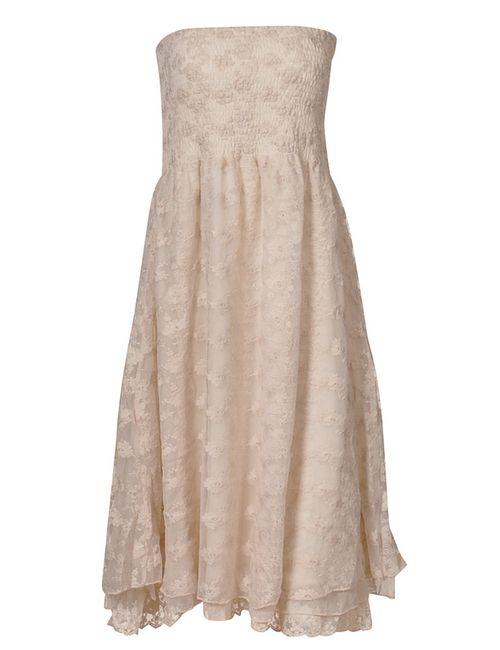 Myrine | Женское Бежевое Платье