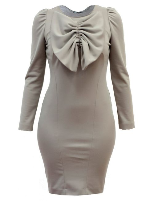 BERTEN | Женское Бежевое Платье