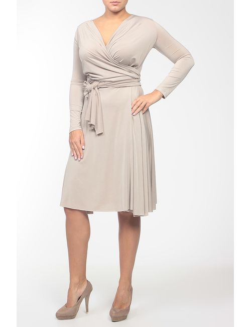 Von Vonni | Женское Многоцветное Платье Джерси