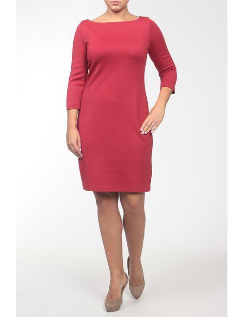 St. John   Женское Красное Платье