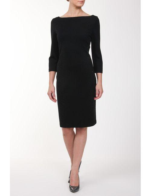 St. John | Женское Чёрное Платье