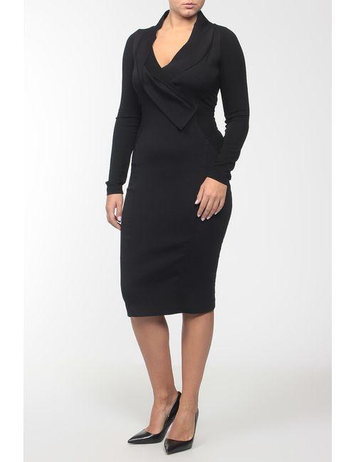 Donna Karan | Женское Чёрное Платье