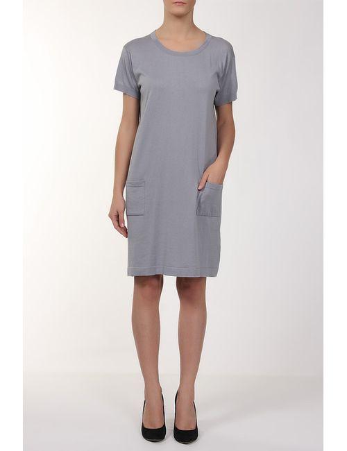 John Smedley | Женское Серое Платье Вязаное