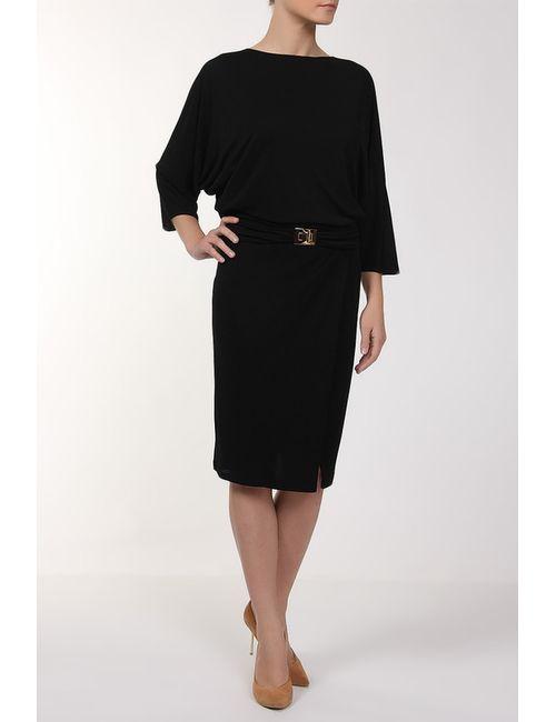 Emilio Pucci | Женское Чёрное Платье Джерси