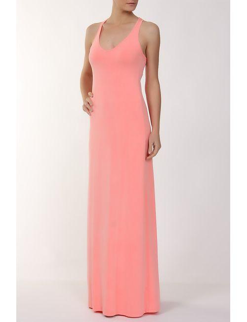 Feel The Piece | Женское Оранжевое Платье Джерси