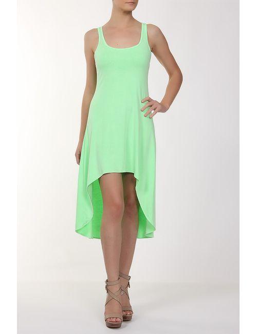 Feel The Piece   Женское Зелёное Платье Джерси