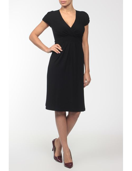 Pietro Brunelli   Женское Чёрное Платье Джерси