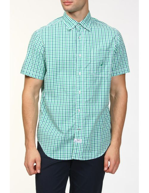 Nautica   Мужская Зелёная Рубашка