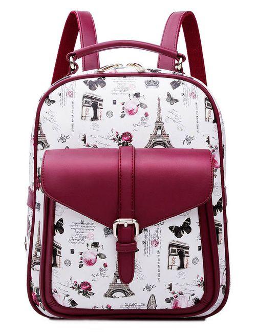 HOW.R.U | Женский Красный Рюкзак