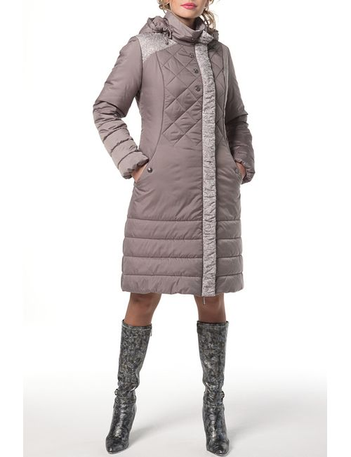 DizzyWay   Женское Коричневое Пальто