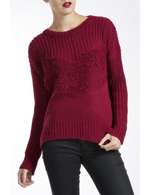 MBYMAIOCCI | Женский Красный Джемпер