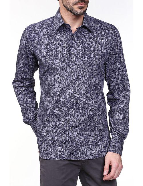 Karl Lagerfeld | Мужская Фиолетовая Рубашка