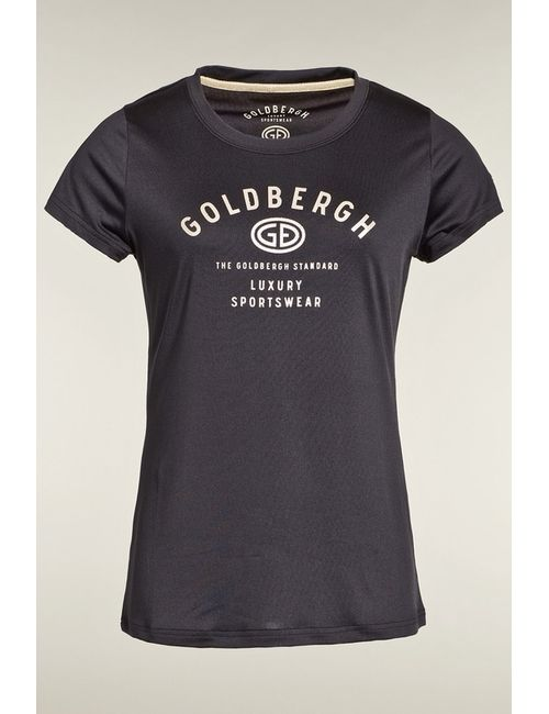 Goldbergh | Женская Черный Футболка