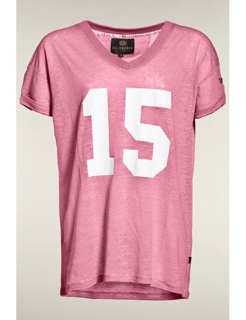 Goldbergh | Женская Розовая Футболка