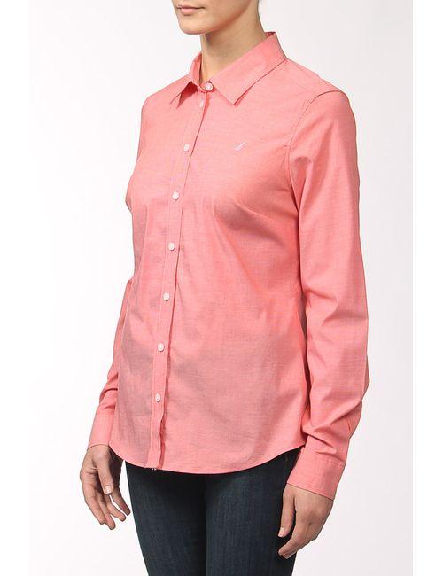 Nautica | Женская Розовая Рубашка