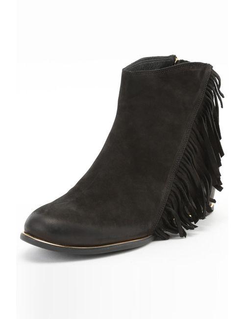 C&S | Женские Чёрные Ботинки