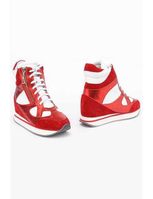 ENISSE | Женские Красные Ботинки