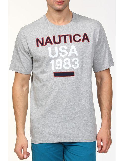 Nautica | Мужская Серая Футболка