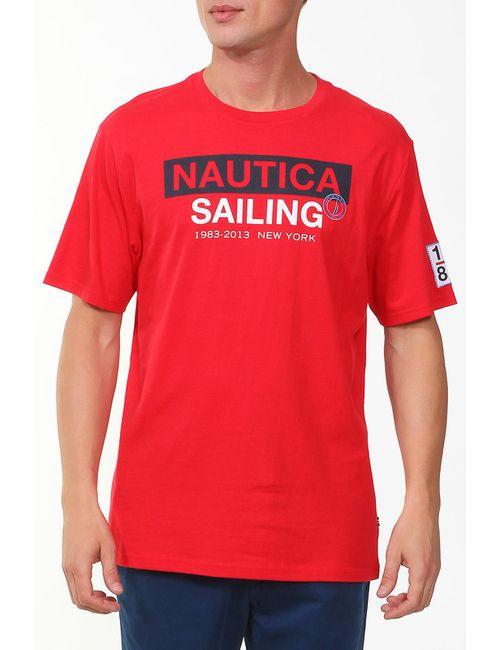 Nautica | Мужская Красная Футболка