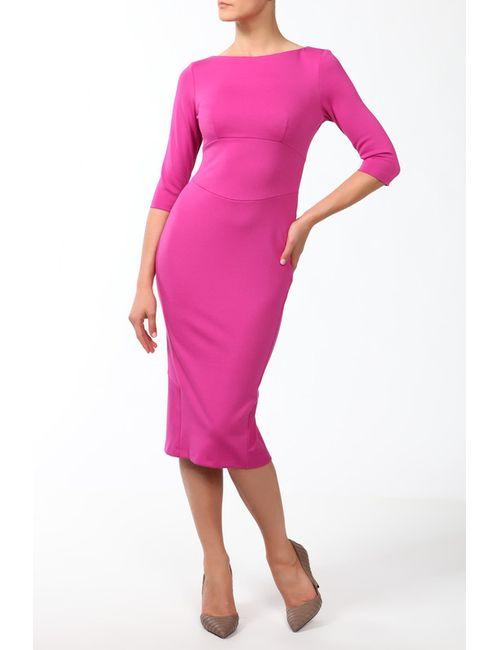 Анна Чапман | Женское Розовое Платье