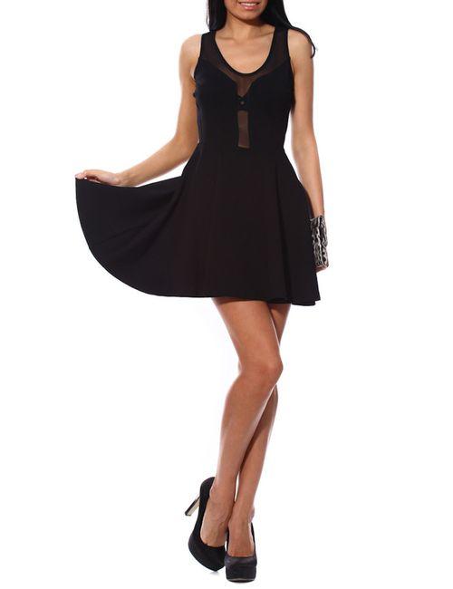 Punkqueen | Женское Черный Платье