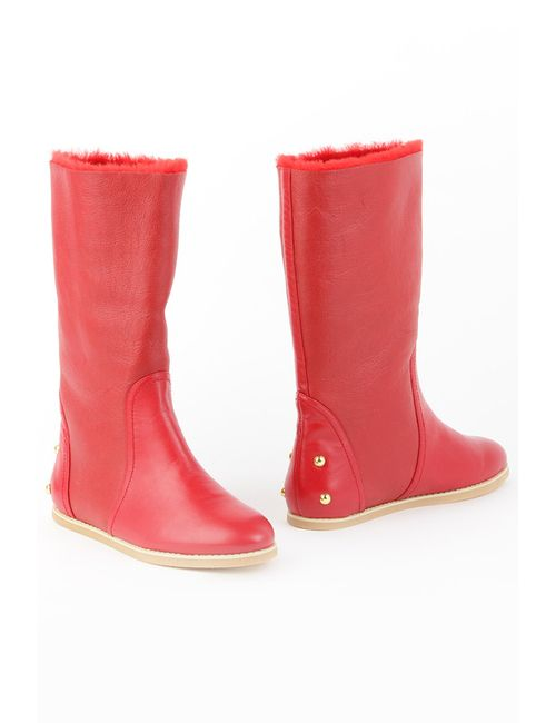 Mascotte | Женские Красные Ботинки