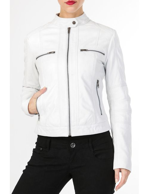 Helium   Женская Белая Куртка