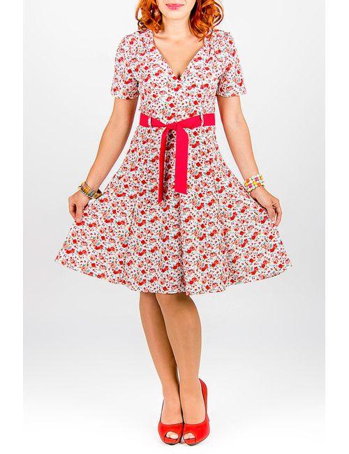 Lautus   Женское Многоцветное Платье