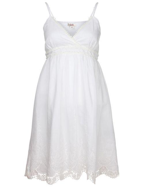 Usha   Женское Белое Платье