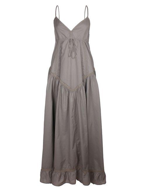 Usha | Женское Серое Платье