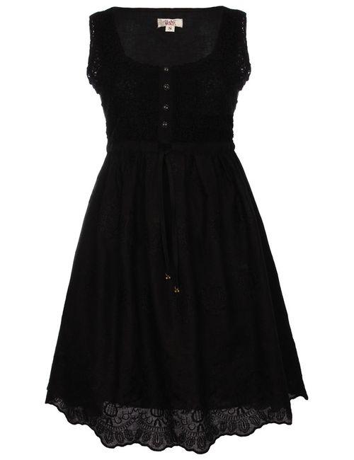 Usha | Женское Черный Платье