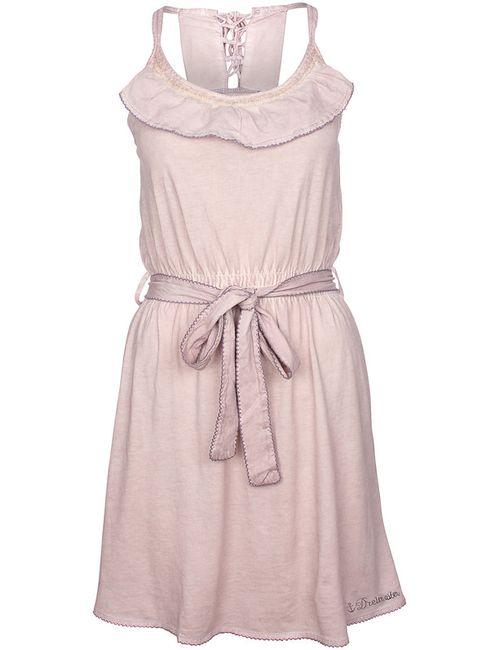 DREIMASTER | Женское Фиолетовое Платье