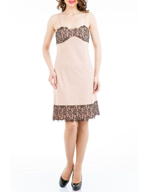 Tsurpal | Женское Бежевое Платье Negligee