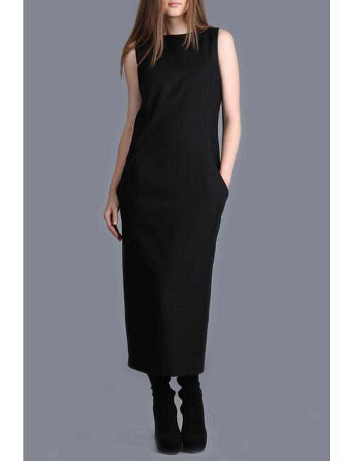 ЭНСО | Женское Чёрное Платье