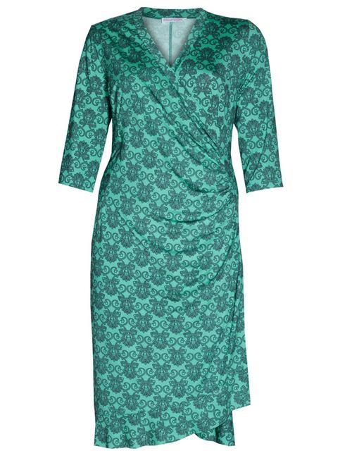 Klod' elle | Женское Зелёное Платье