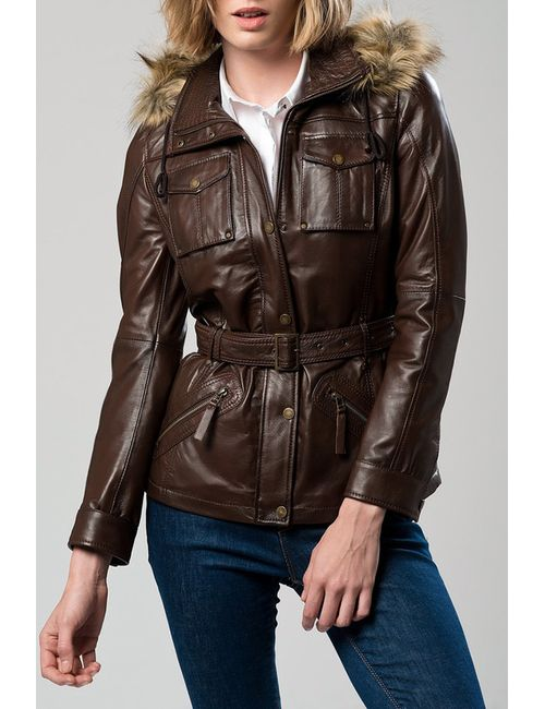 DERIMOD   Женская Коричневая Куртка